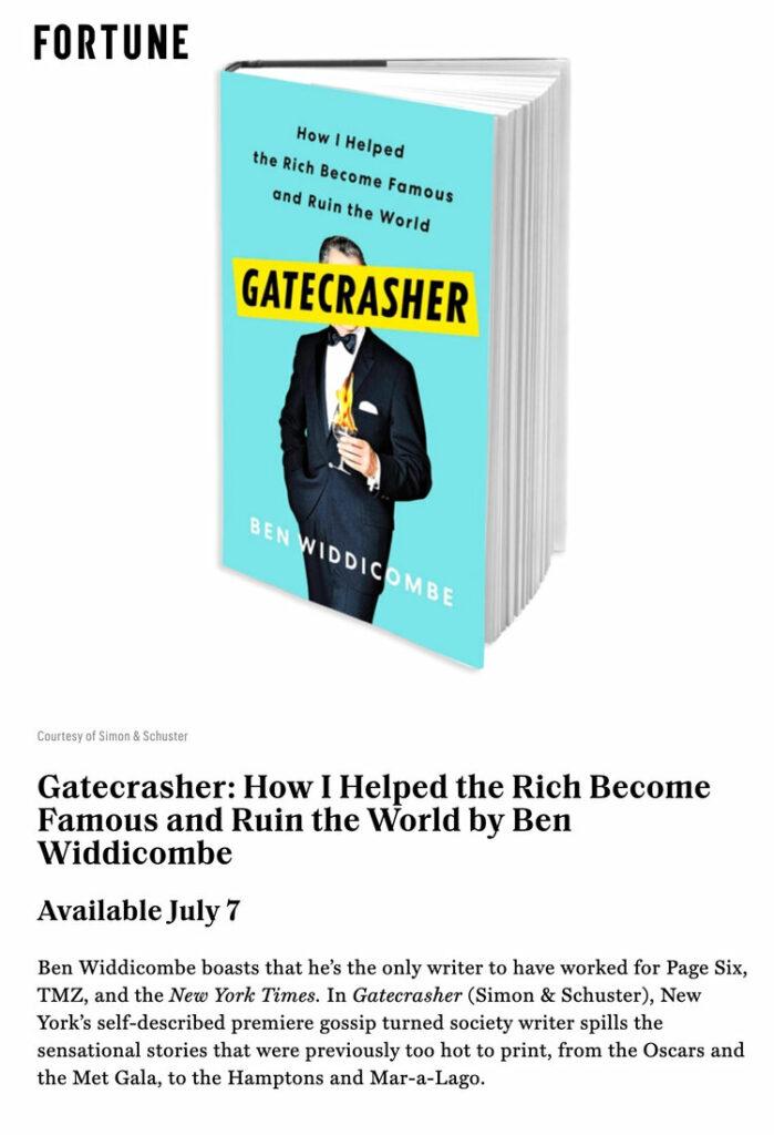fortune gatecrasher book