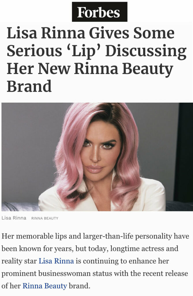forbes lisa rinna+Beauty+Forbes