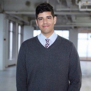 man wearing gray
