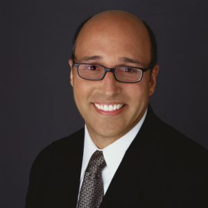 balding businessman portrait